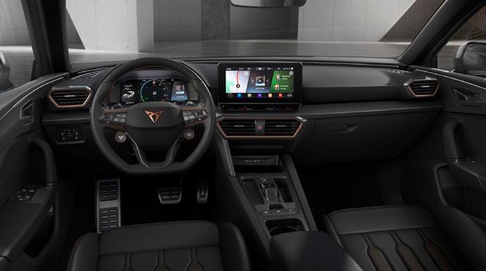 Seat Cupra Leon Interieur