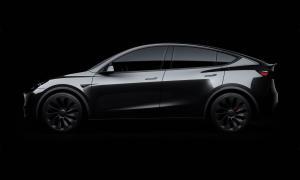 Tesla Model Y Black Header