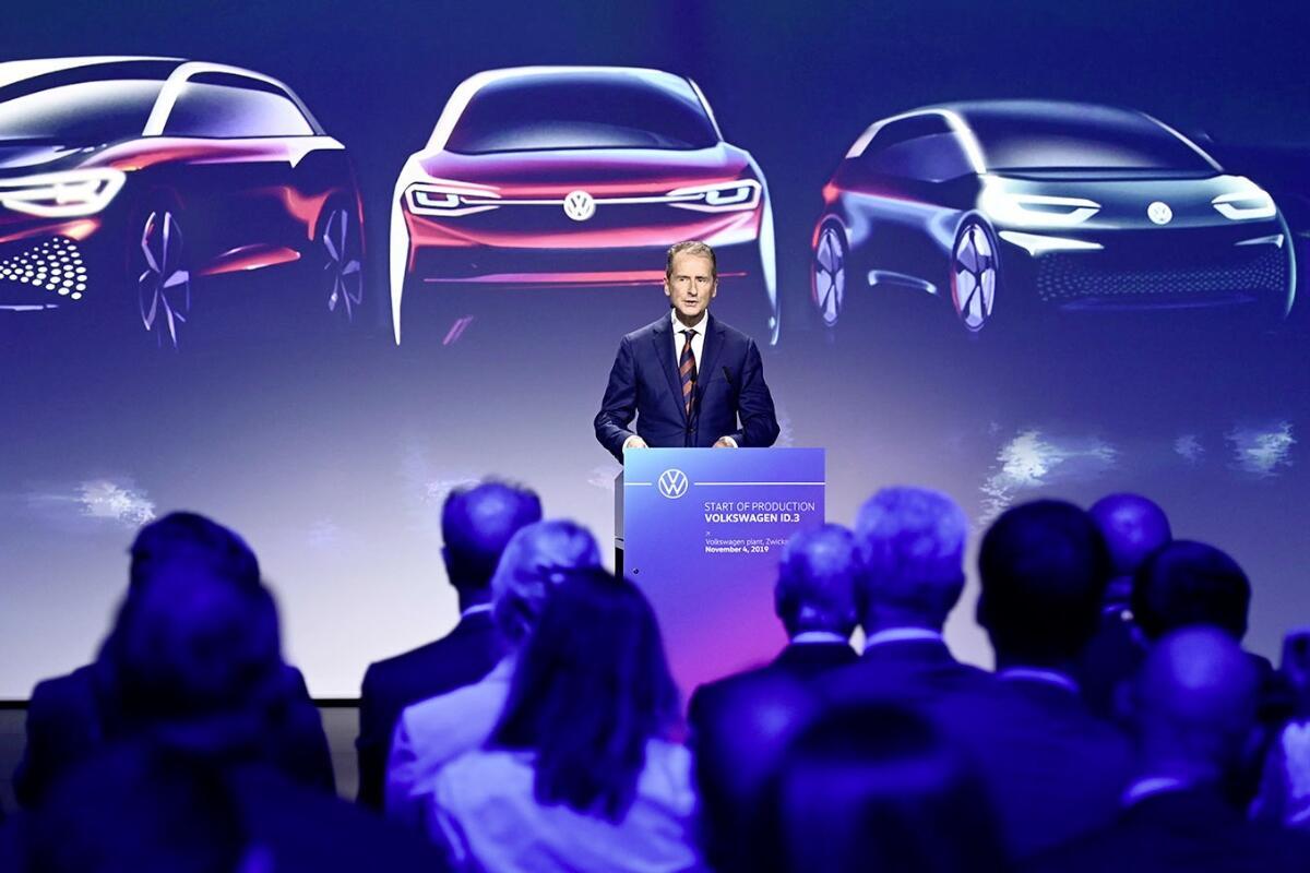 Vw Volkswagen Herbert Diess Header