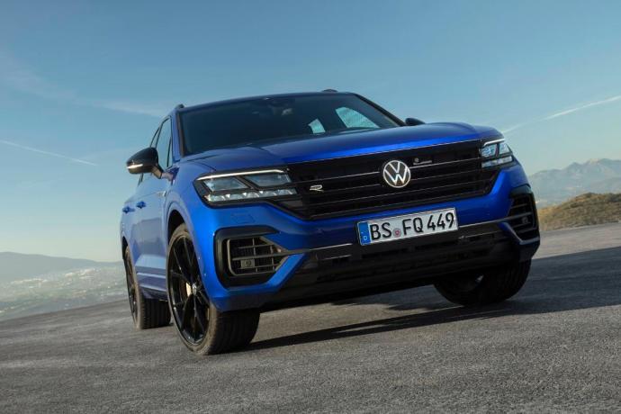 Vw Volkswagen Touareg R Header