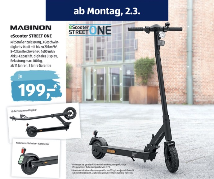 Aldi E Scooter