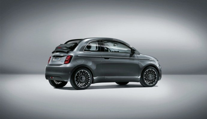 Fiat 500 Elektro Back