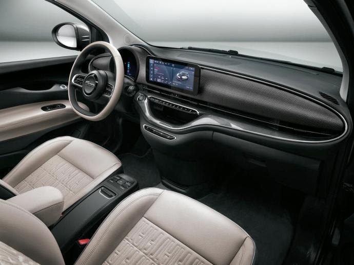 Fiat 500 Elektro Innen