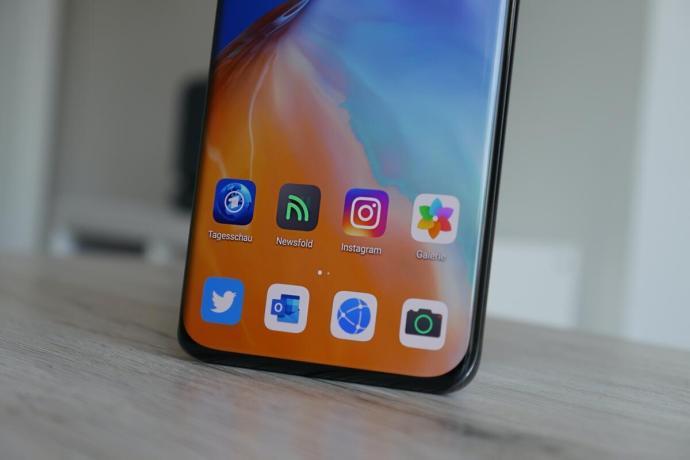Huawei P40 Pro Apps