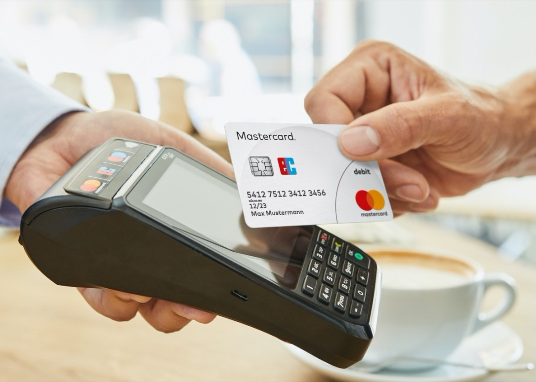 Mastercard Kontaktlos Debitkarte