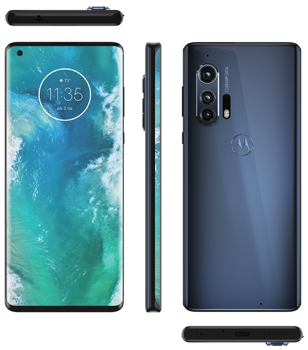 Motorola Edge Plus Blue
