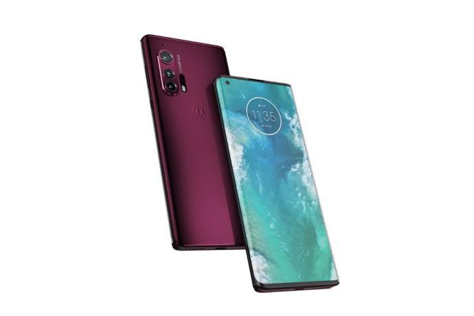 Motorola Edge Plus Rot