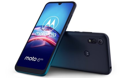 Motorola Moto E6s Tuerkisblau
