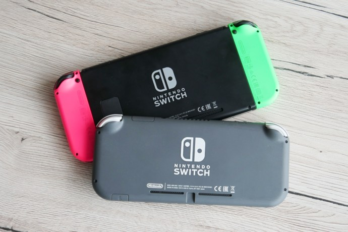 Nintendo Switch Lite Tisch Header