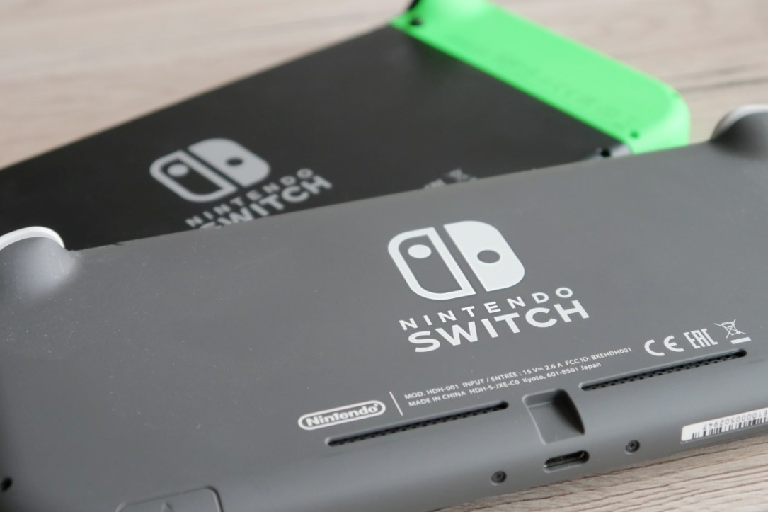 Nintendo Switch Logo Header