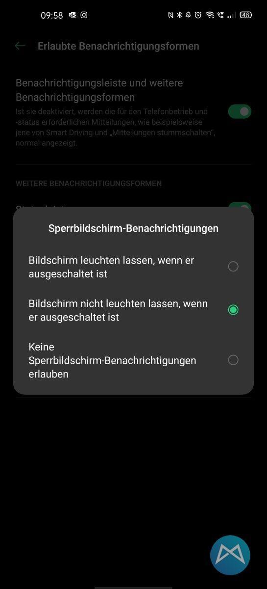 Oppo Find X2 Pro Benachrichtigungen