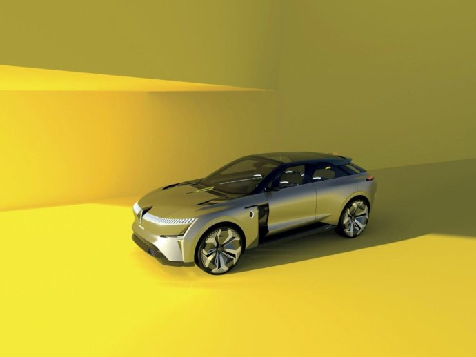 Renault Morphoz Front