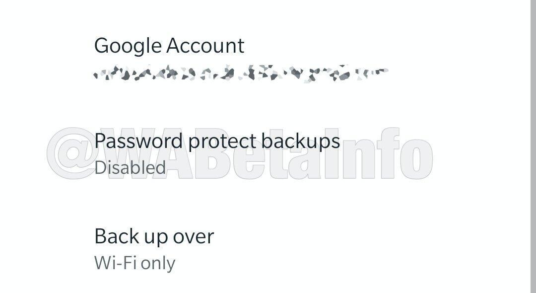 Whatsapp Android Backup Passwort
