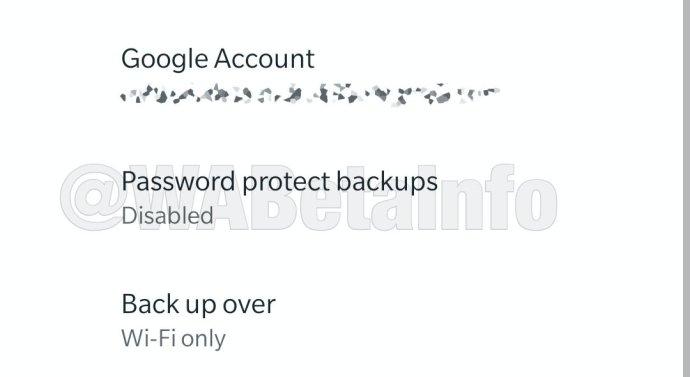 Whatsapp Android Backup Passwort