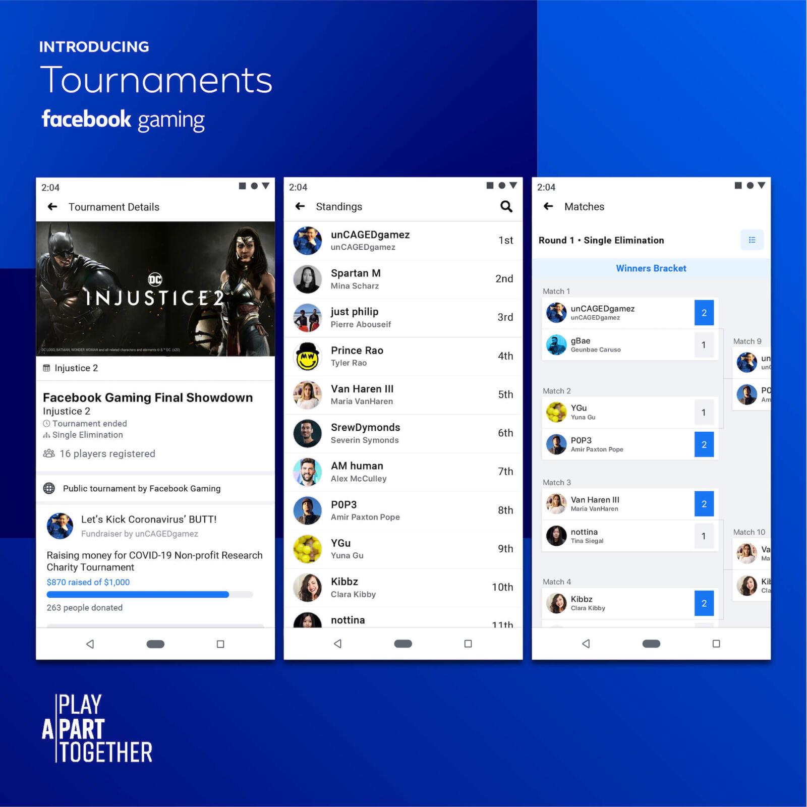 Facebook Gaming Tournaments 2