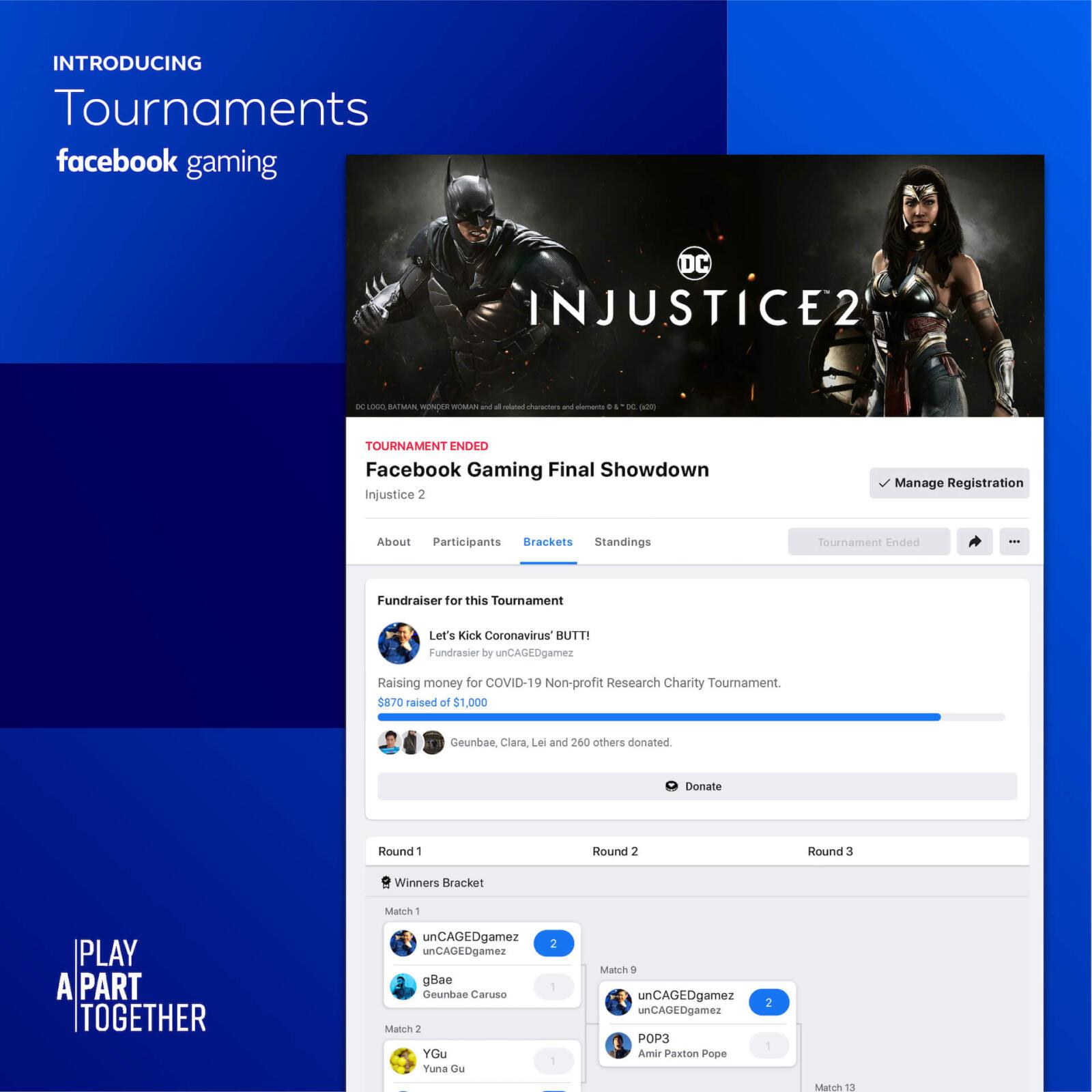 Facebook Gaming Tournaments 3