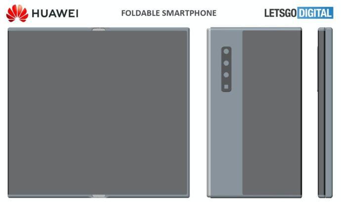 Huawei Mate X2 Patent1