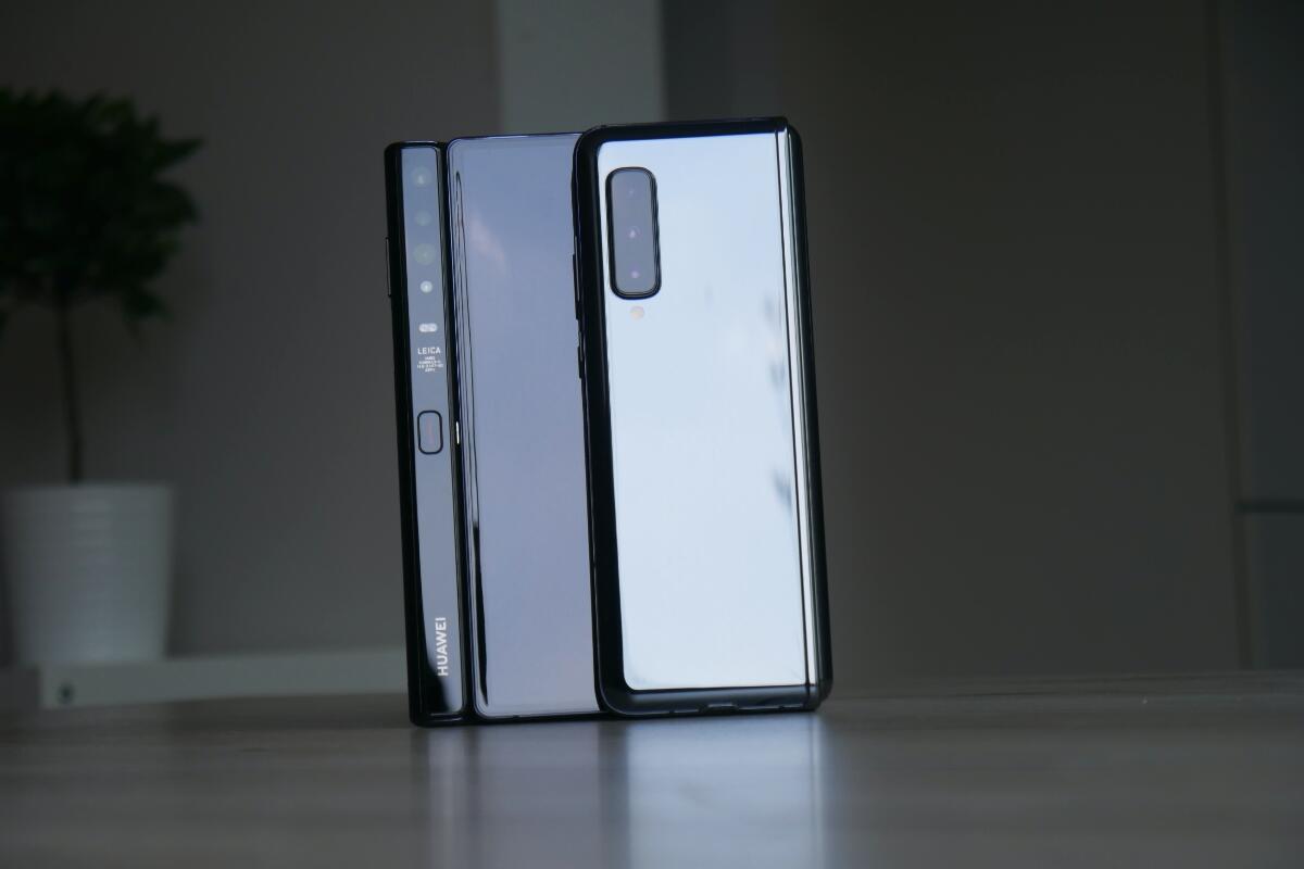 Huawei Mate Xs Samsung Galaxy Fold Test5
