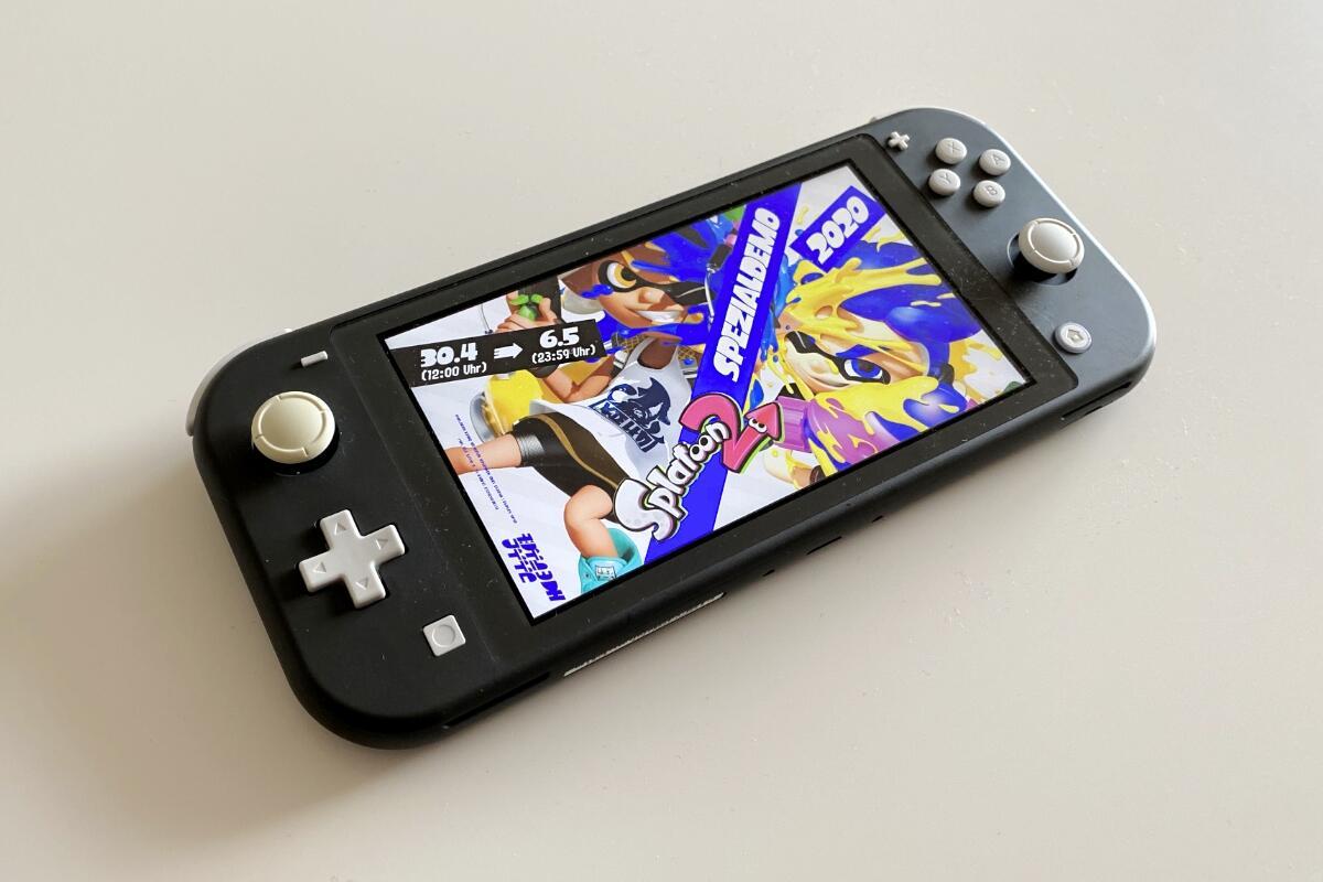 Nintendo Switch Splatoon