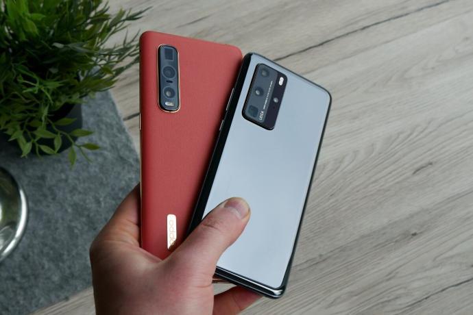 Oppo Find X2 Pro Huawei P40 Pro Test3