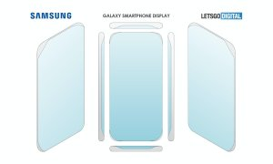 Samsung Display Vier Seiten Patente
