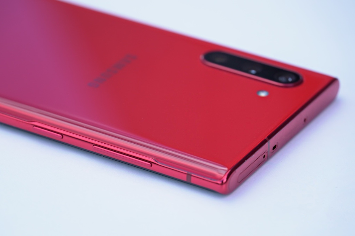Samsung Galaxy Note 10 Rot Header
