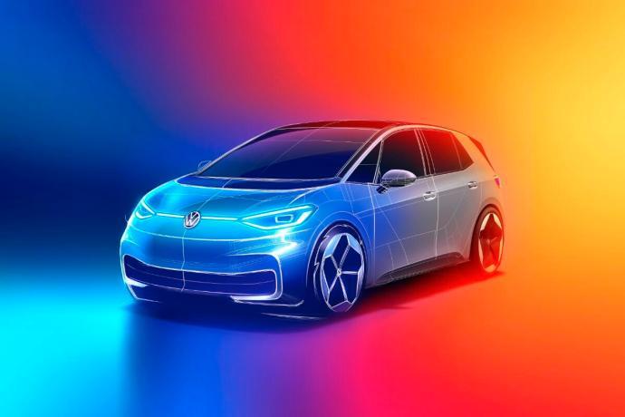 Volkswagen Vw Id Id3 Design Header