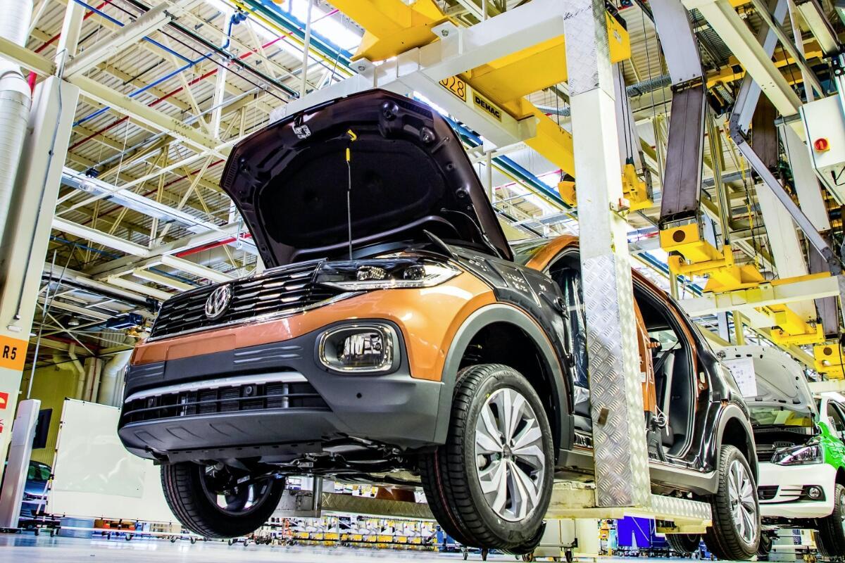Vw Volkswagen T Cross Produktion Header