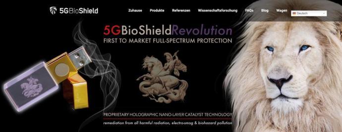 5gbioshield Webseite
