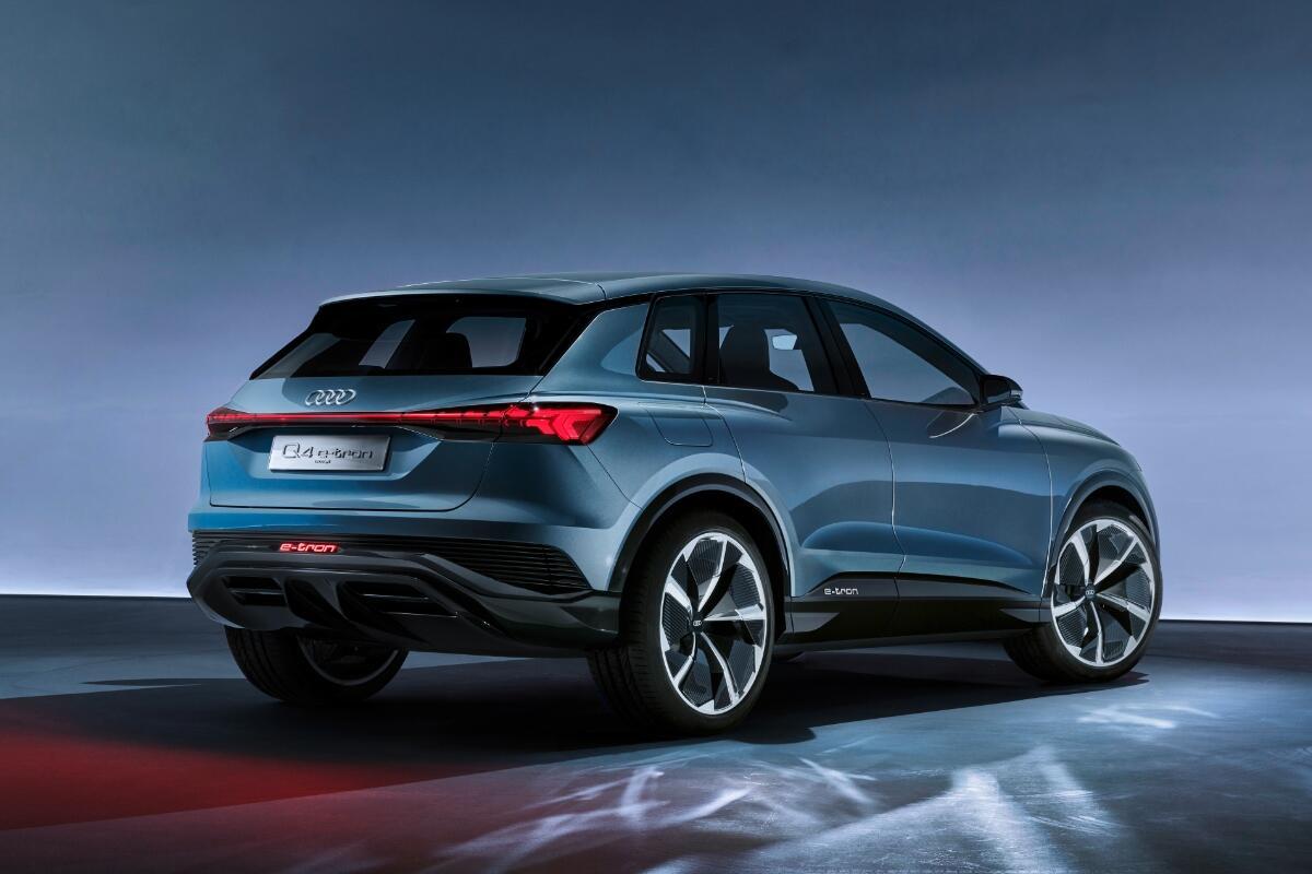 Audi Q4 Etron Back
