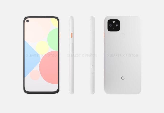 Google Pixel 4a Xl Front Back Sides 2048x2048