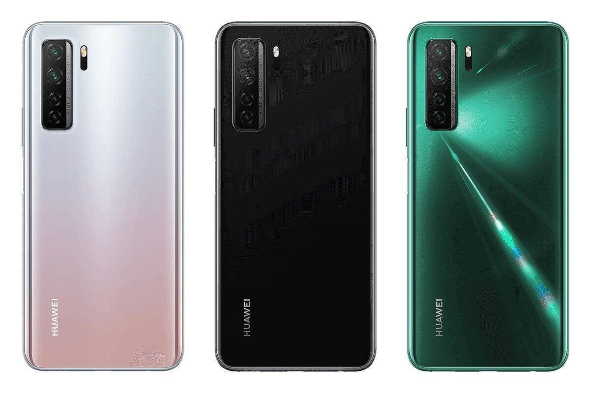 Huawei P40 Lite Back