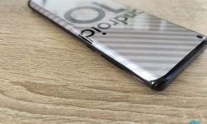 Motorola Edge Rechts