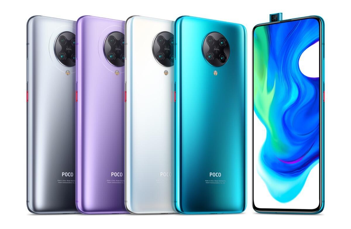 Poco F2 Pro Farben