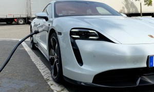 Porsche Taycan Turbo S Charging Header