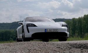 Porsche Taycan Turbo S Street Header