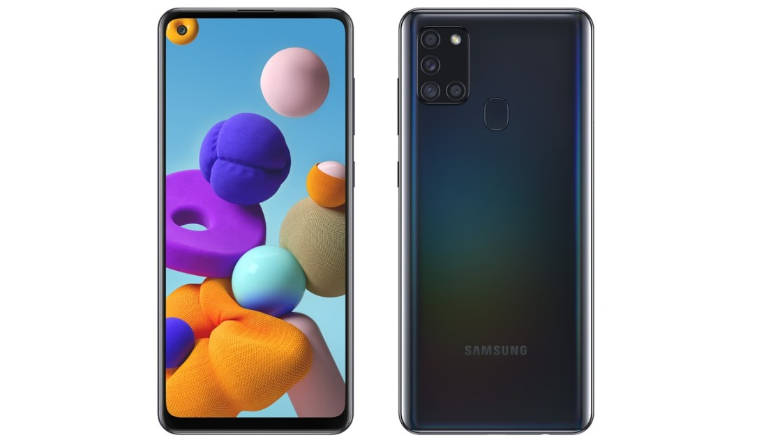 Samsung Galaxy A21s Header