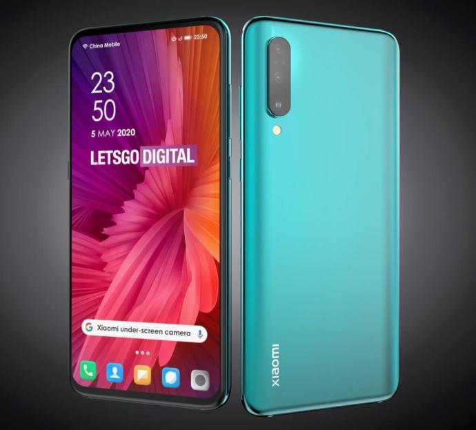 Xiaomi Smartphone Kamera Display Patent3