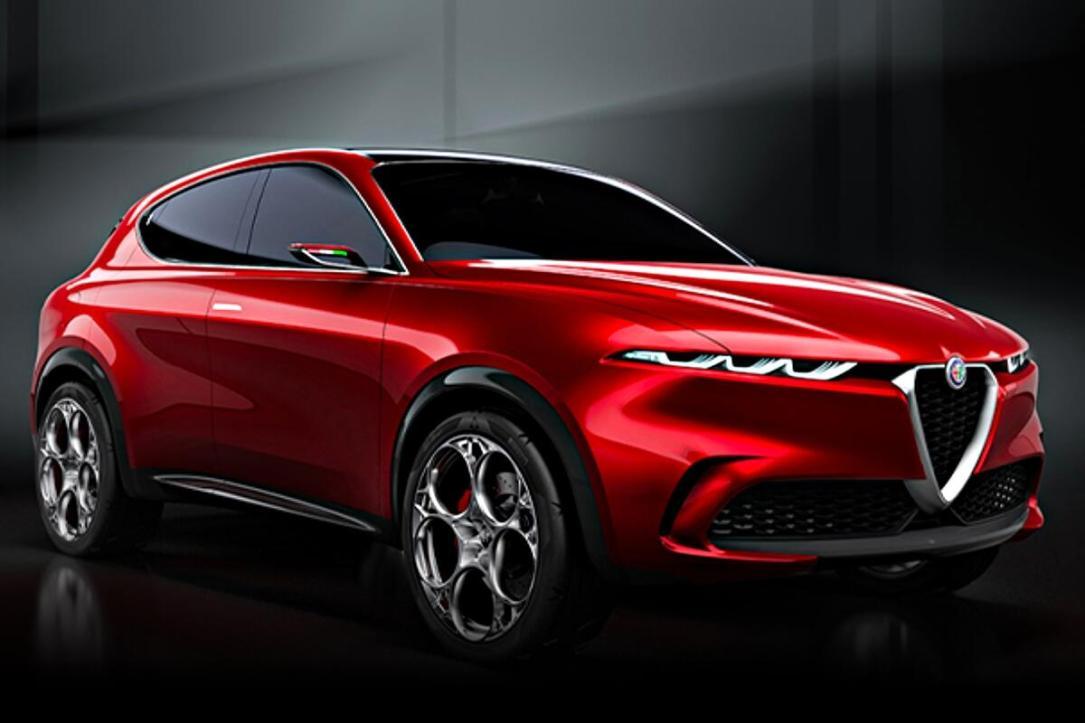 Alfa Romeo Tonale Header