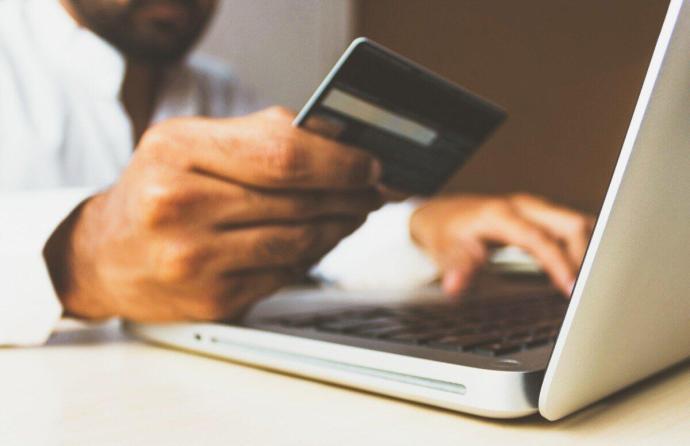 Einkauf Shopping Card Kreditkarte