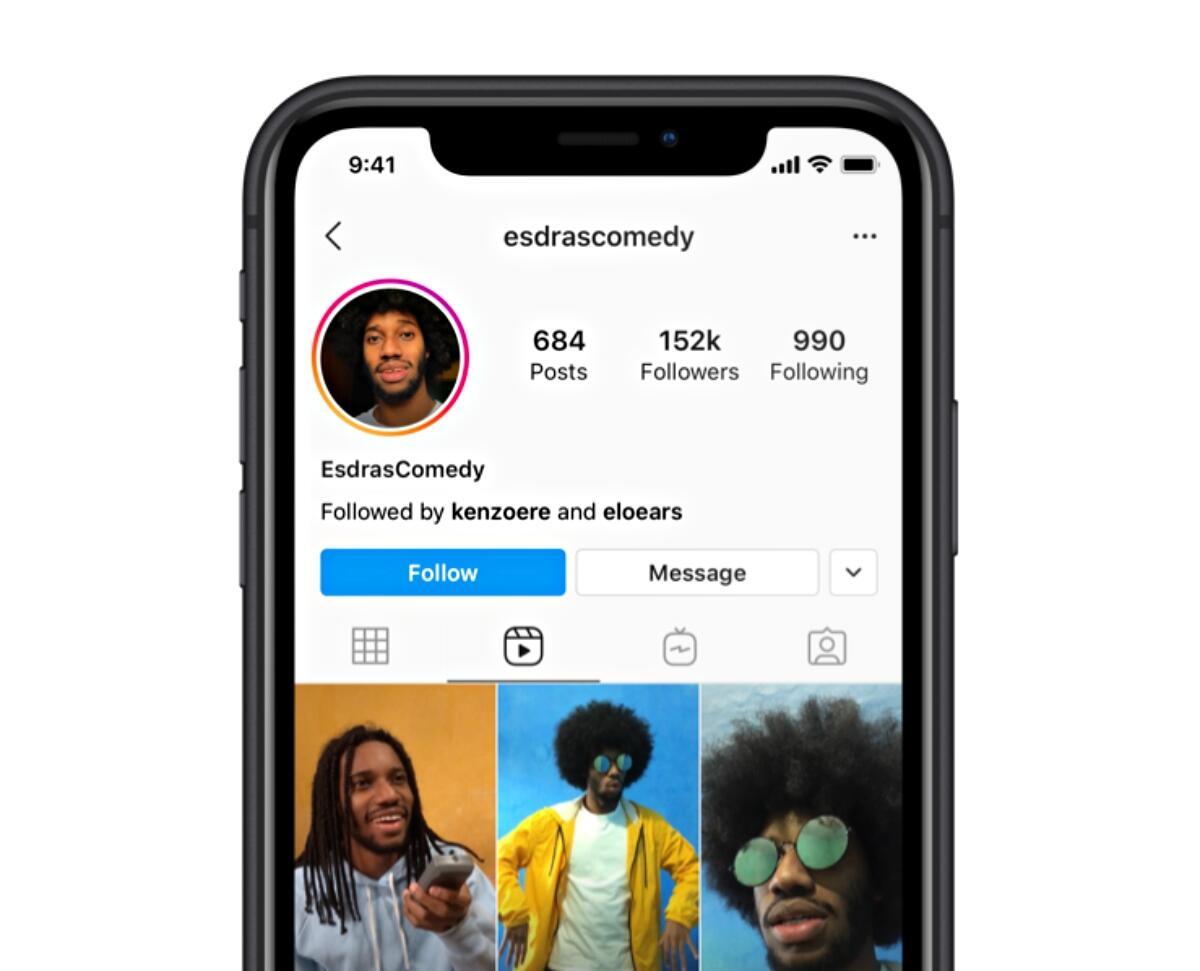 Instagram Reels Profil