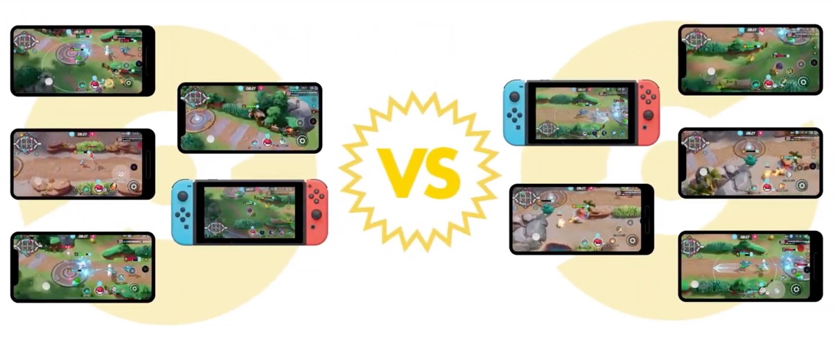 Pokemon Unite Devices