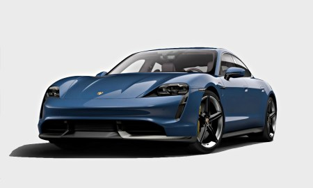 Porsche Taycan 2021 Neptune Blue