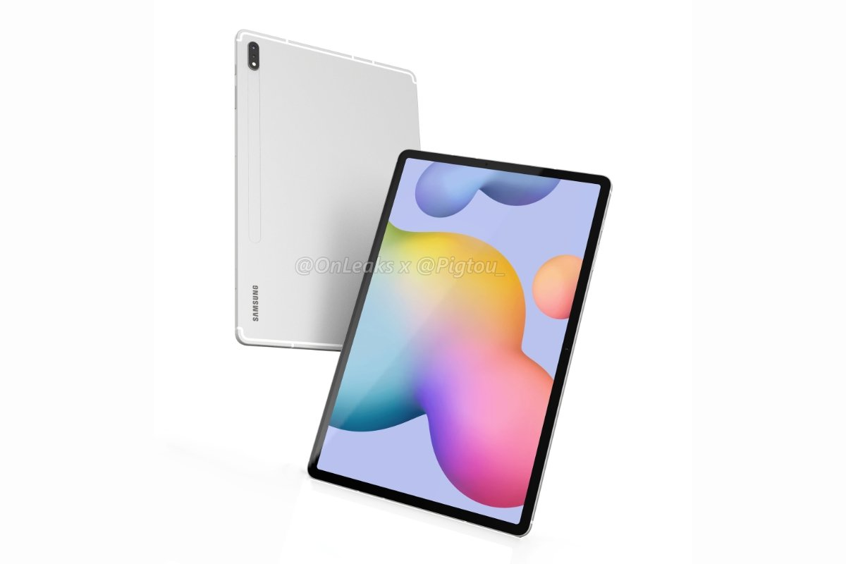 Samsung Galaxy Tab S7 Plus Render Header