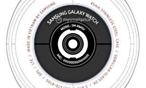Samsung Galaxy Watch 3 Fcc