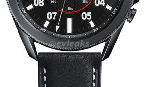 Samsung Galaxy Watch 3 Schwarz