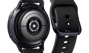 Samsung Galaxy Watch Active 2 Back