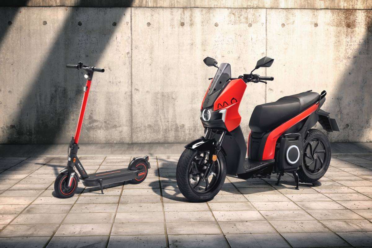 Seat Mo Scooter Roller