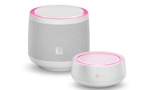 Telekom Smart Speaker Familie Weiss