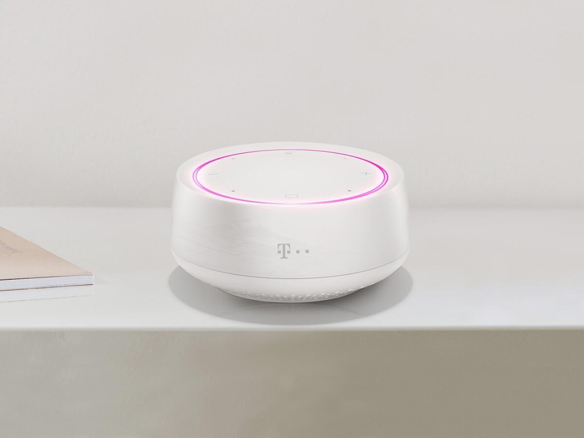 Telekom Smart Speaker Mini Header